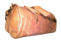 Over Lander Leather Duffel Travel Bag