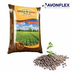Plastic Laminated Fertilizer Packaging Pouch