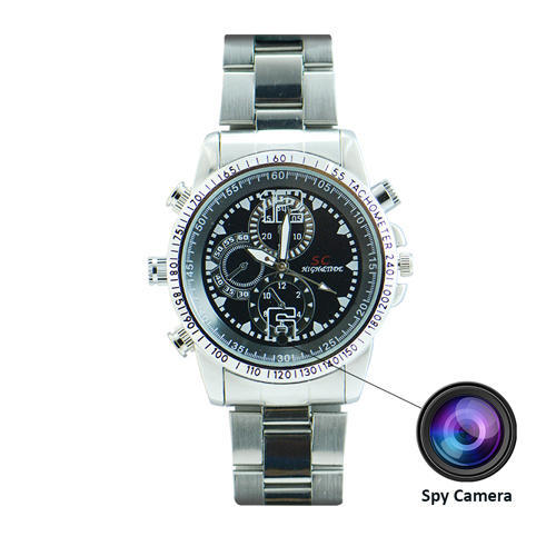 Image result for spy chain waterproof wristwatch