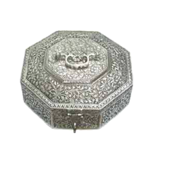 White Metal Multi Purpose Box