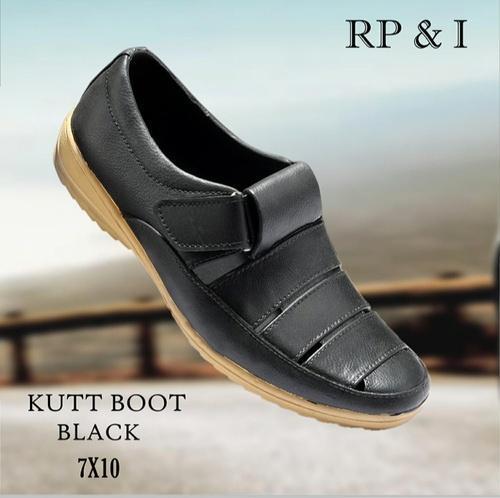 e988efd9b7cdd Daily Wear Black Stylish Sandal For Men    S