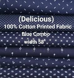 Cotton Printed Shirting Fabric (Delicious)