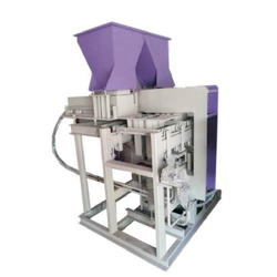 Double Die Semi Automatic Fly Ash Bricks Machine
