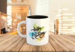 Custom Glossy Two-Tone Ceramic Mugs