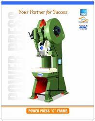 Mechanical C Type Power Press