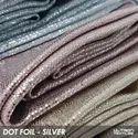 Dot Foil Poly Lycra Fabric