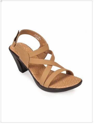a15c28b216d Women Sandal - Khadim s Ivory Casual Heel Sandal 15911015980 Retailer from  Kolkata