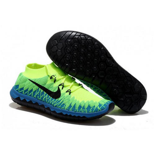 123b7f2f27b3 Box Nike Free 3.0 Flyknit Green Running Imported Shoes