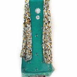 Muti Chanderi Dress Material