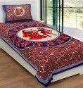 Rajasthani Dandiya Bedsheet for Single Bed