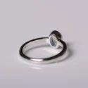 Handmade Sterling 92.5 Silver Ring Labradorite Gemstone