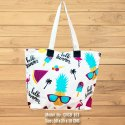 Canvas Beach Bag