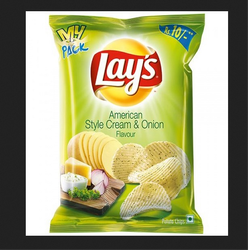 Lazy Lays Potato Chips American