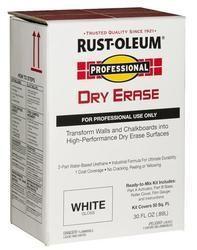 Rust Oleum Professional Dry Erase Paint