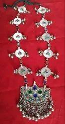 Real NK Handmade Fashion Trendy Tribal Afghani Necklace German Silver