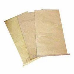 HDPE Laminated Centre Sealed Brown Paper Bag
