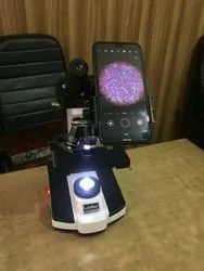 Black Plastic Mobile Phone adopter for microscope