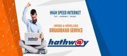 Free Fiber Optic Net Hathway Wireless Broadband, in chennai, Usage Capacity: Unlimited