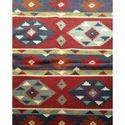 Flat Weave Kilim Design Woollen  Rug