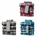 Checks Collar Neck Mens Check Cotton Casual Shirt, Handwash, Size: L-xxl