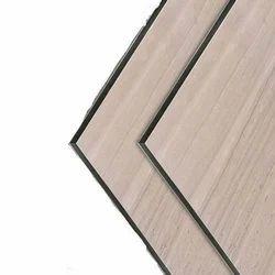 Travertine Wooden Aluminium Composite Panel