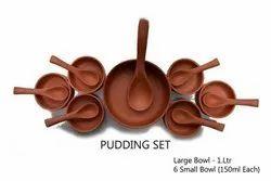 Clay Organic Pudding Set