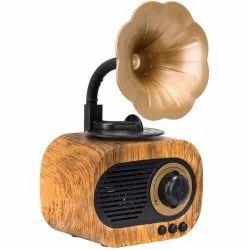 Branded Gramophone 3W Bluetooth Speaker