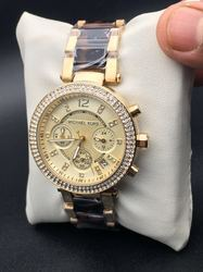 Golden Lovely Look For Ladies Watch