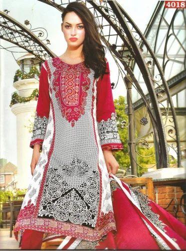 b56c053167 Women Cotton Semi-Stitched Pakistani Suits, Rs 3800 /piece | ID ...