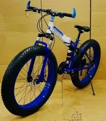21 Gear Fat Tyre Foldable Bicycle