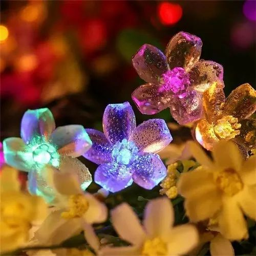 Non branding Multicolor Decorative Flower Light, for Decoration, Packaging Type: Good Packing