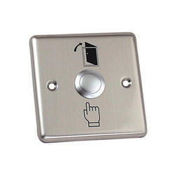 Realtime Push Button Metal, For Industrial