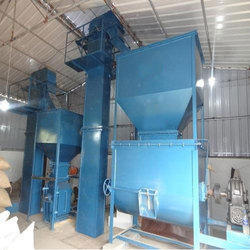 Semi Automatic Cattle Feed Plant