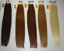 Bleached Straight Hair