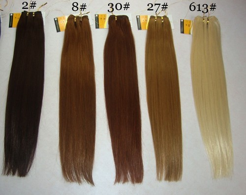Bleached Straight Hair, Pack Size: 100 Gm