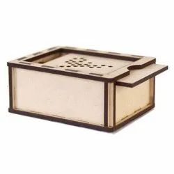 Square MDF Wooden Box, For Packaging