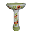 Ceramic Printed Vitrosa Pedestal Wash Basin