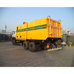 Truck Mounted Vacuum Cleaning Machine