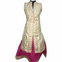 Front Slit Indo Western Anarkali Suit