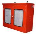 Mild Steel Double Door Fire Hose Box