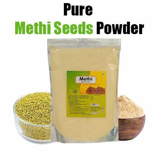 Natural And Vegan Methi Seeds Fenugreek Powder 1 Kg
