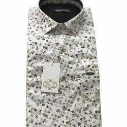 Kento Mens Stylish Printed Shirt