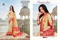 Rachna Banarasi Silk Satvika Catalog Saree Set For Woman 7