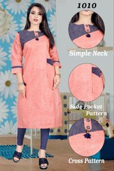 festival wear simple kurti