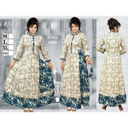 Ladies Heavy Cotton Kurtis