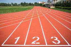 Athletic Synthetic Track