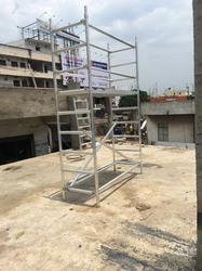 Aluminum Mobile Scaffoldings Tower
