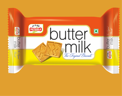 Priya Gold Butter Milk Biscuit, Packaging Type: Packet