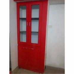 Red Wooden Almirah