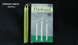 Parkash-100/15 Color Deepawali Candle